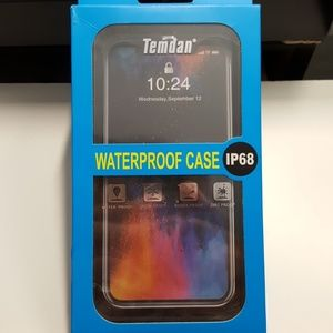 "Case waterproof for iphone xs max 6.5"" black-clear"